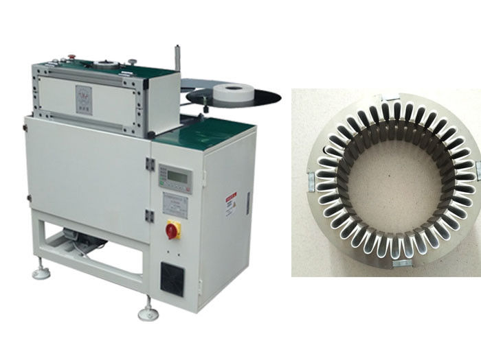 Paper Inserting Machine Controlled By PLC Program Slot Insulation Auto - Inserting