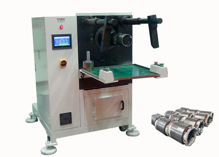 Motor Stator Coil Servo Winding Inserting Machine with Wedge