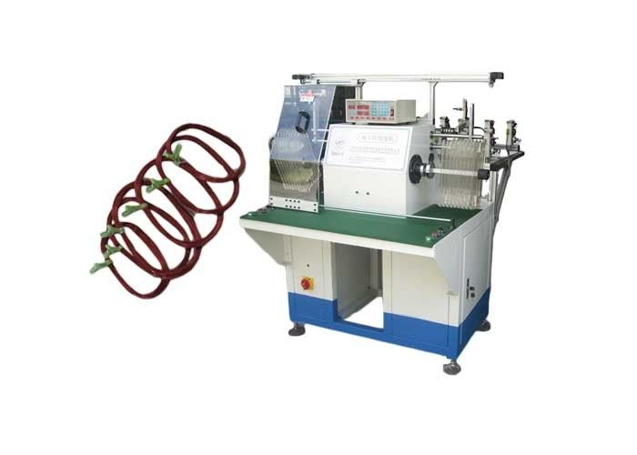 Automatic Two Station Electric Motor Coil Winding Machine With Turntable AC/DC Motor
