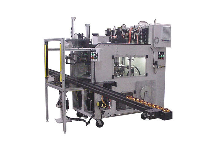 High Automation Stator Coil  Winding and Wedge Inserting Machine 380V / 50 / 60Hz 3Kw
