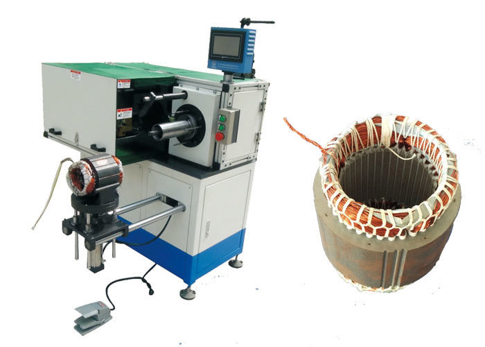 Horizontal Motor Stator Lacing Machine Single Side Coil Turns SMT - DW300