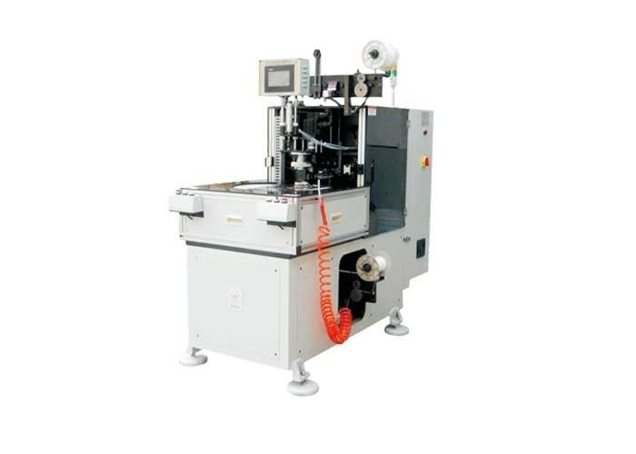 Automatic Efficient Braiding Stator Lacing Machine For Lacing / Fixing Stator Winding Ends
