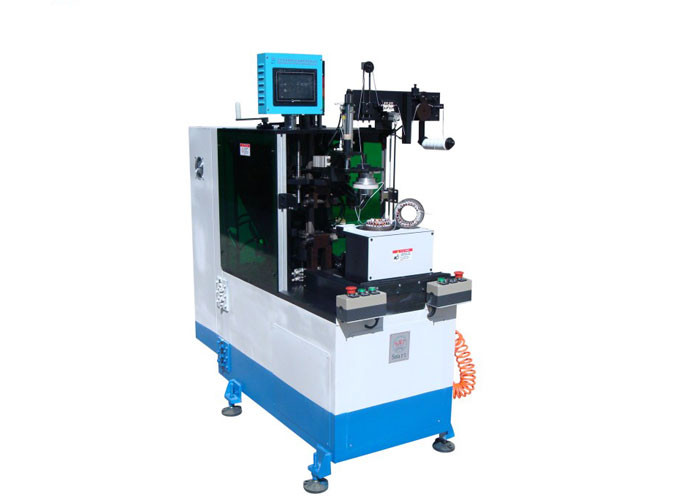 Automatic Servo Double Sides Coil Lacing Machine
